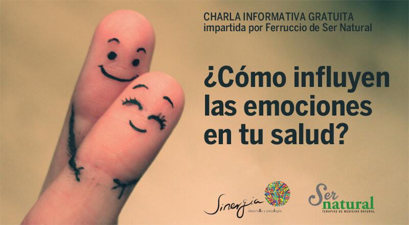 Charla: ¿Cómo influyen las emociones en tu salud?