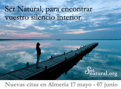 Ser Natural para encontrar vuestro silencio interior.