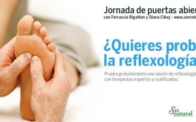 ¿Quieres probar la reflexología del pie?