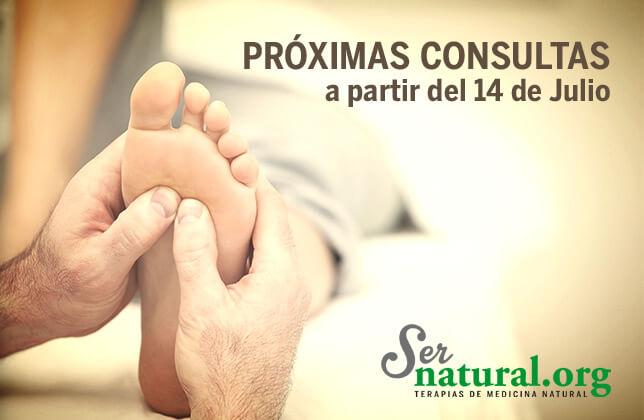 Próximas consultas de Medicina Alternativa en Almería.